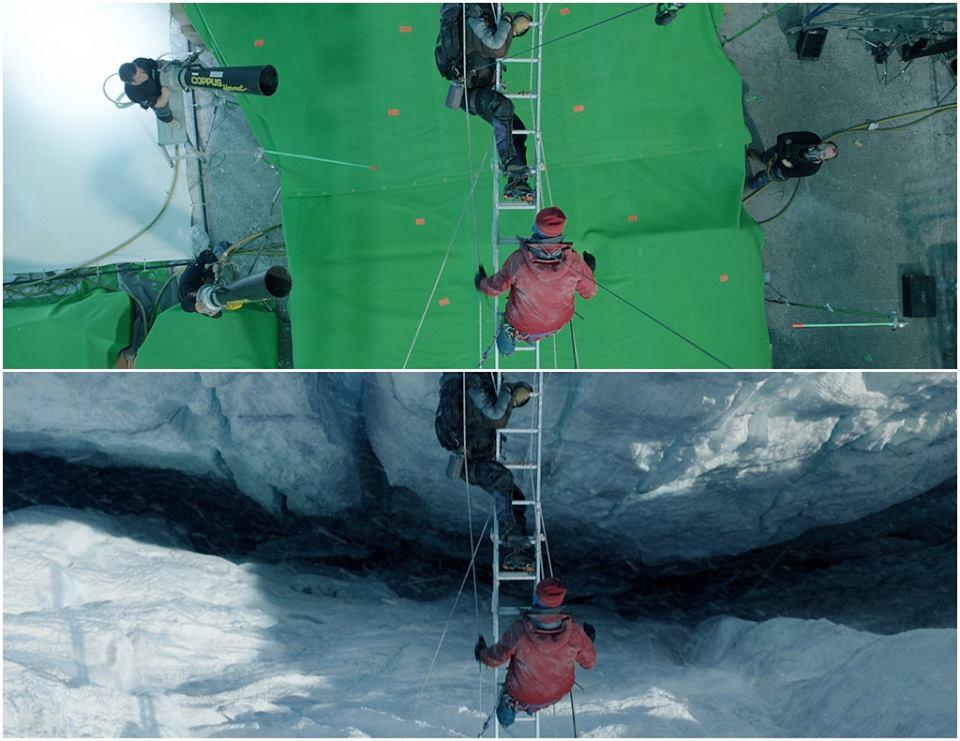 Эверест до и после спецэффектов