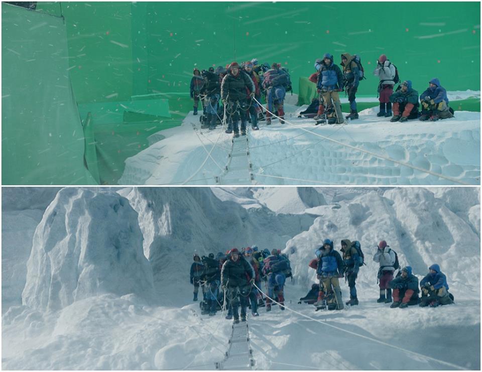 Эверест до и после спецэффектов 4