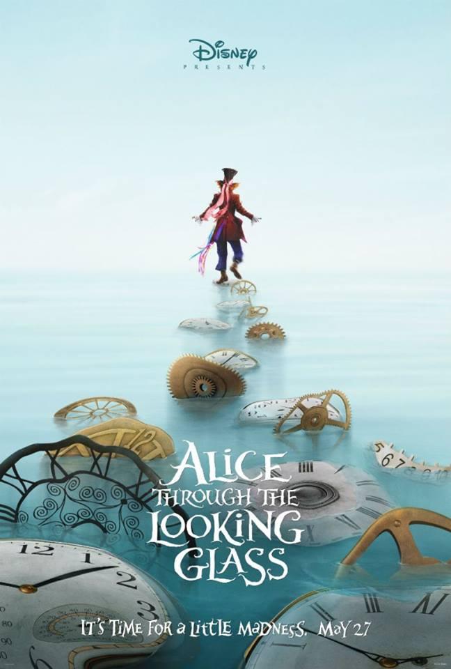 Постеры Алисы в Зазеркалье