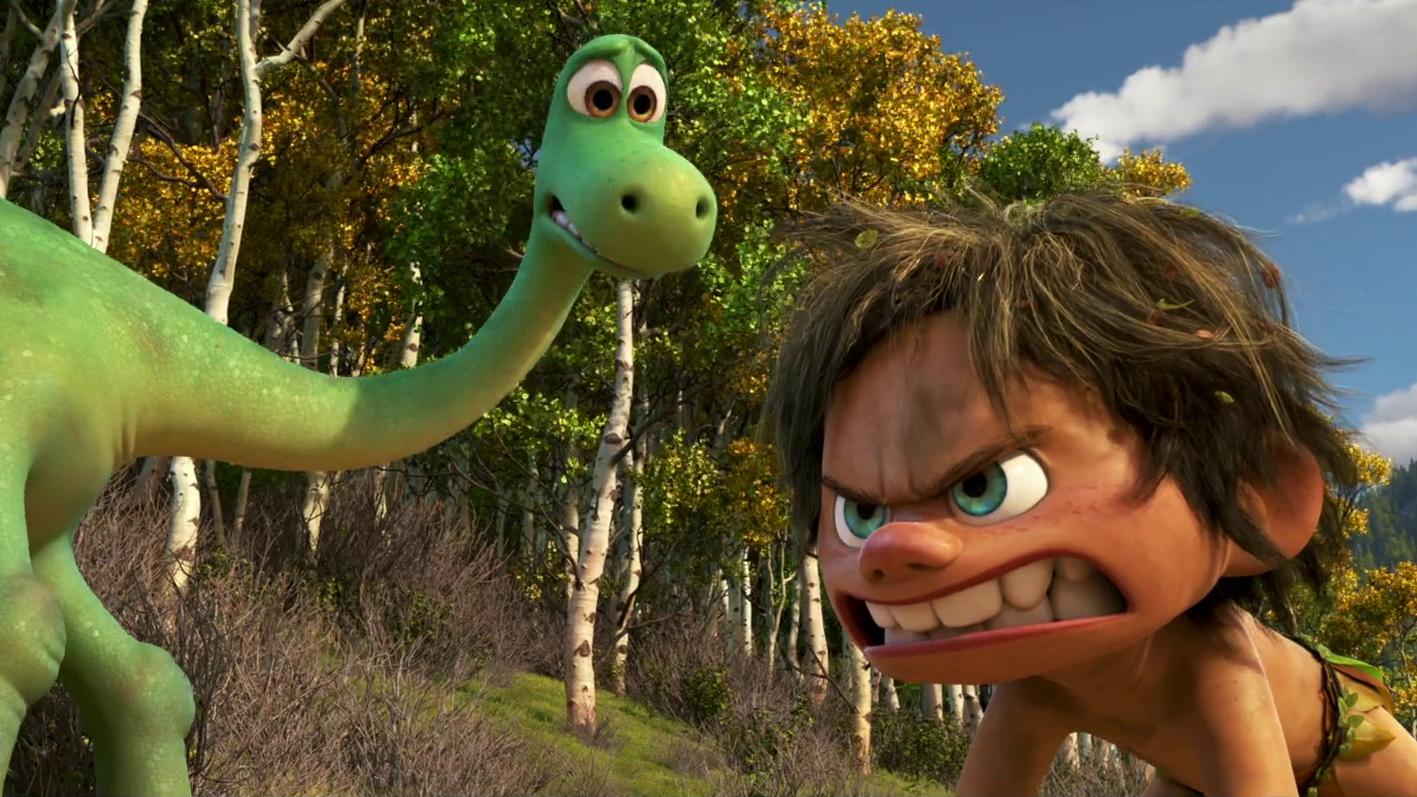 Мультфильм Добрый динозавр