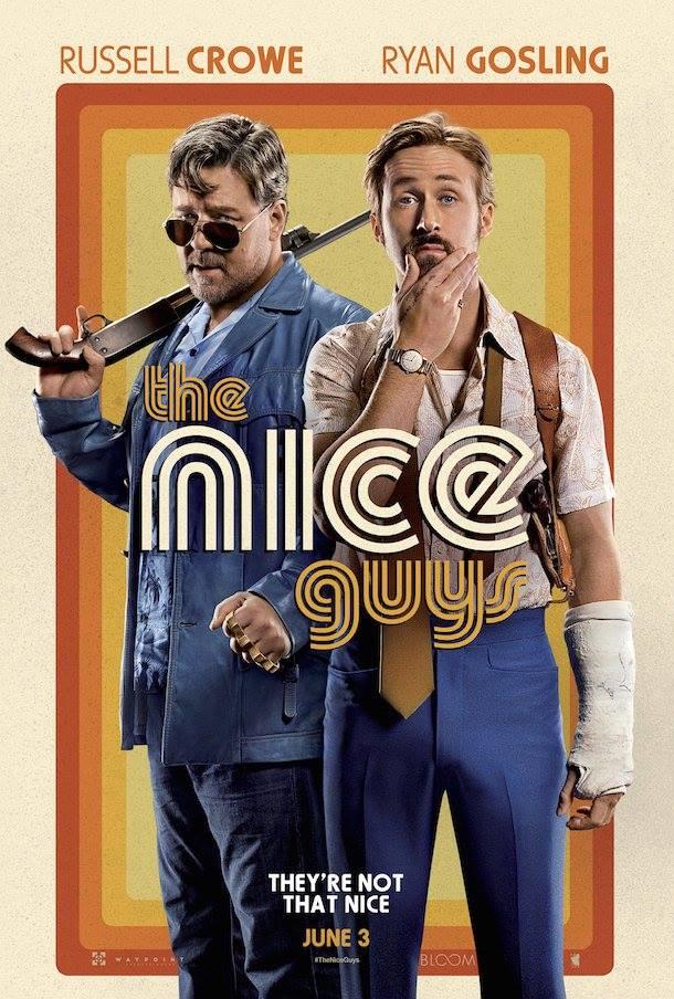 Славные парни фильм 2016 год постер
