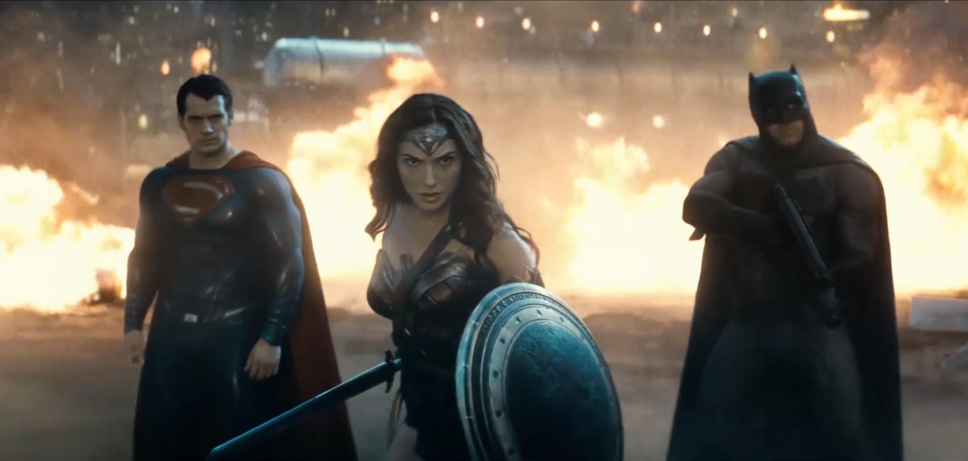 бэтмен против супермена кадр 6