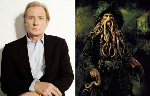 "Билл Найи - Дэйви Джонс,  ""Пираты Карибского моря: Сундук мертвеца"""