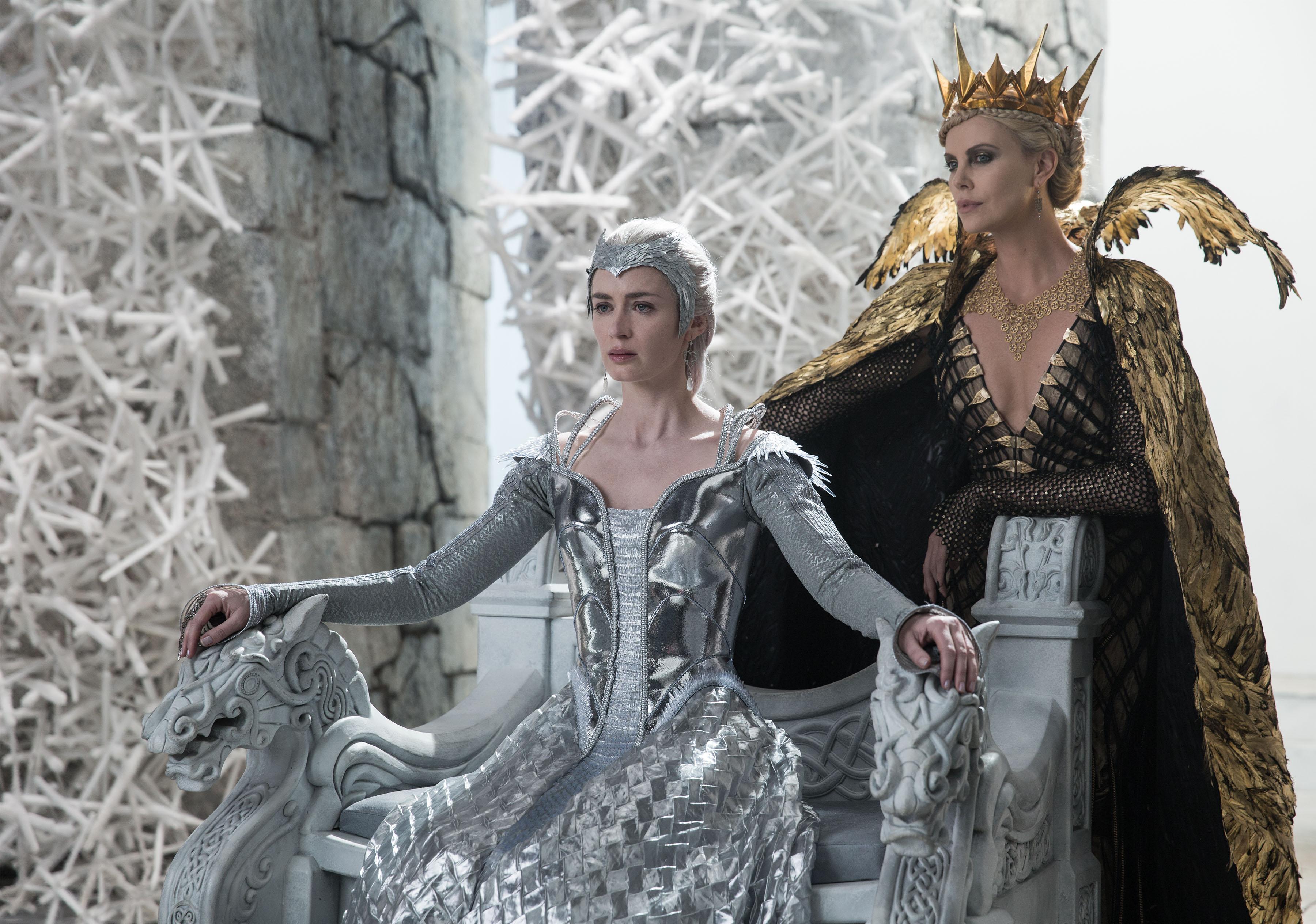 охотник и снежная королева кадр 2