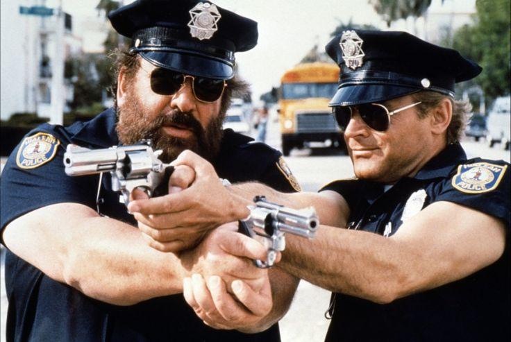 10 лучших мужских дуэтов в кино Бад Спенсер и Теренс Хилл полицейские