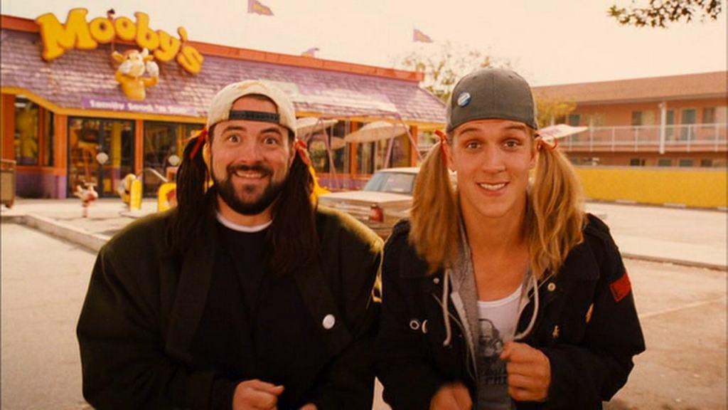 10 лучших мужских дуэтов в кино Джейсон Мьюз и Кевин Смит (Джей и Молчаливый Боб) фильм