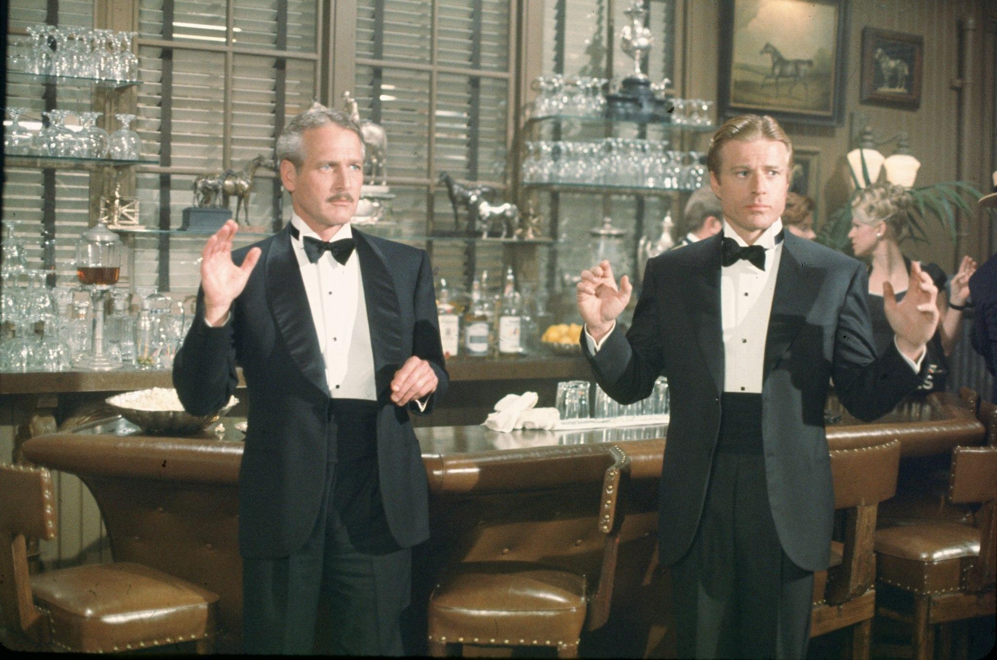 10 лучших мужских дуэтов в кино Роберт Редфорд и Пол Ньюмен Афера