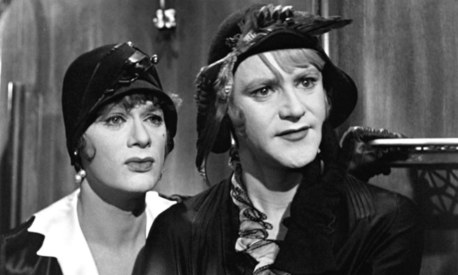 10 лучших мужских дуэтов в кино Тони Кёртис и Джек Леммон В джазе только девушки
