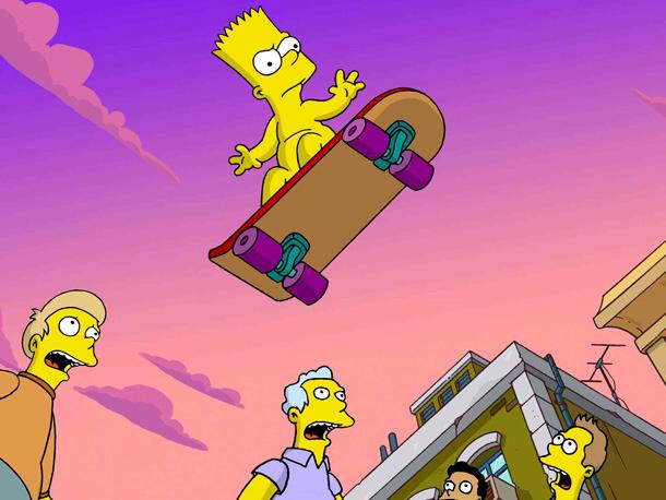 Самые обсуждаемые обнаженные сцены в кино Барт Симпсон Симпсоны в кино