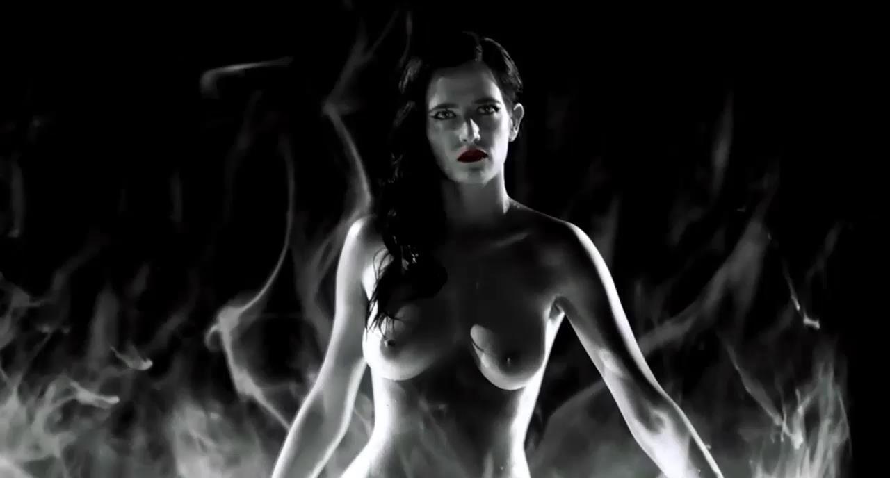 Самые обсуждаемые обнаженные сцены в кино Ева Грин, Город грехов 2 Женщина, ради которой стоит убивать