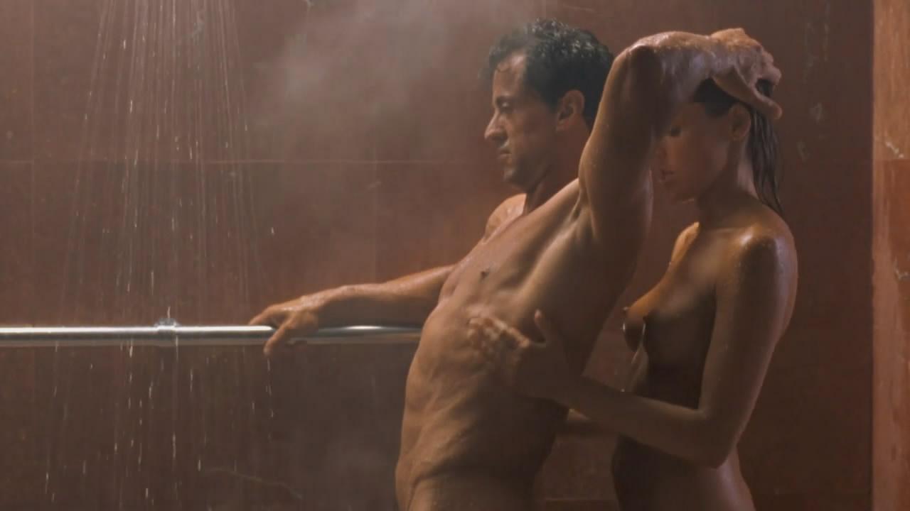 Самые обсуждаемые обнаженные сцены в кино Шэрон Стоун и Сильвестр Сталлоне, Специалист
