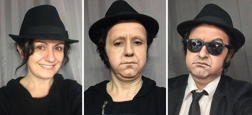 Грим гример персонажи кино Джон Белуши Братья блюз