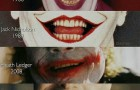 Эволюция улыбки Джокера