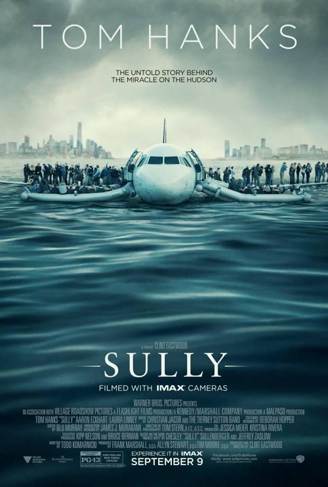 Sully poster Klint Eastwood Tom Hanks