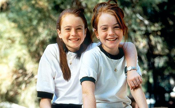 Актеры игравшие близнецов Линдси Лохан Ловушка для родителей