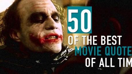 50 самых памятных цитат в истории кино