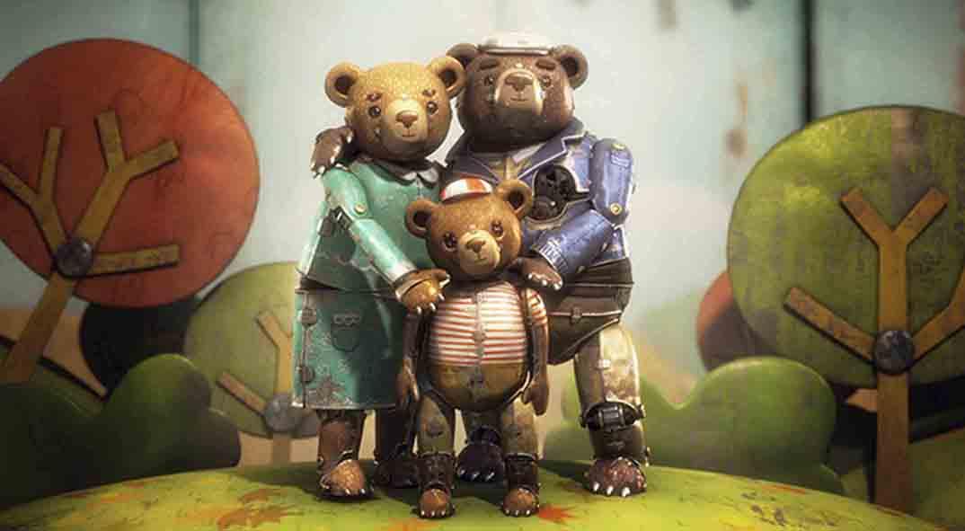 История медведя Oscar Shorts