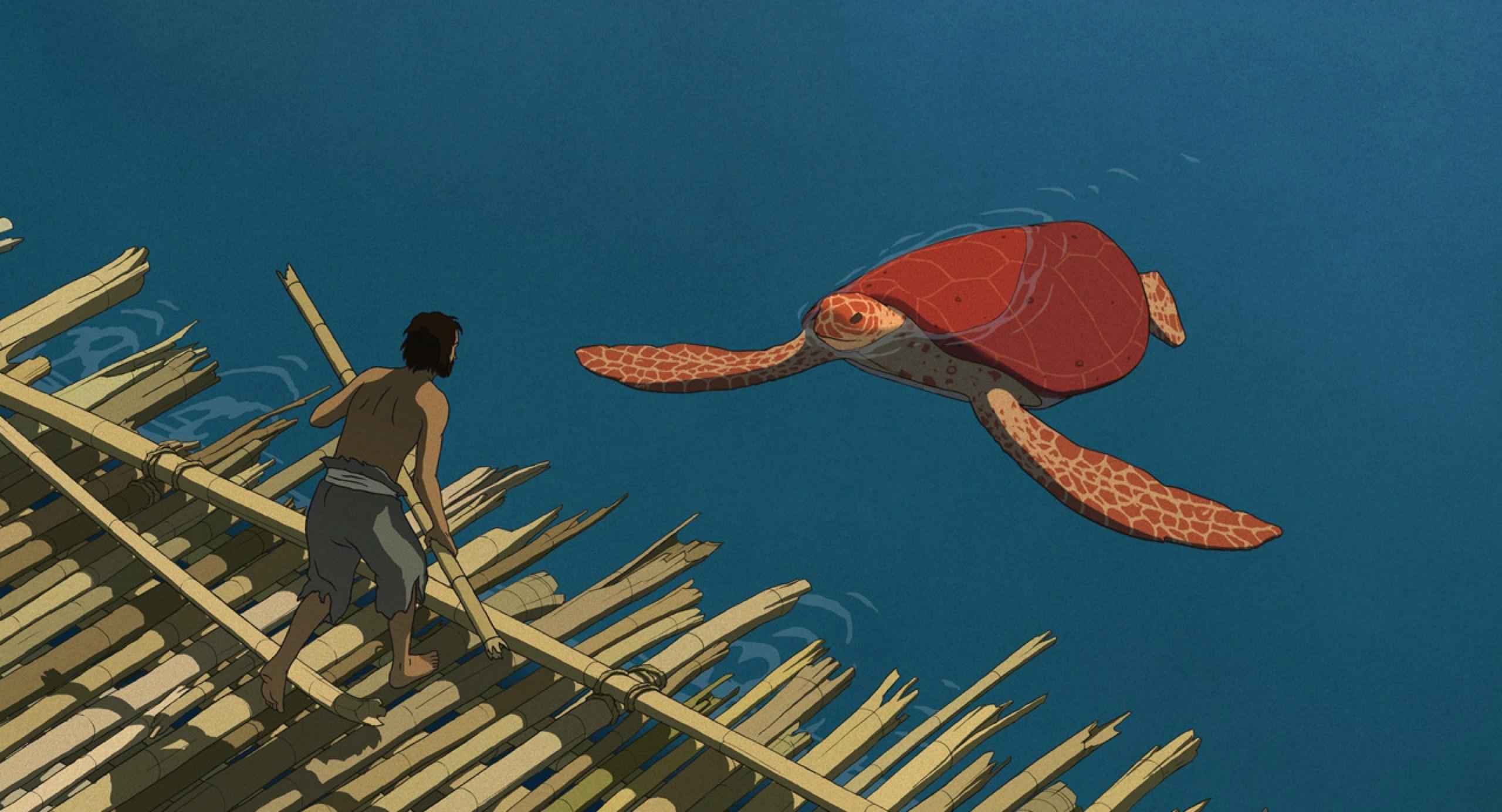 Красная черепаха