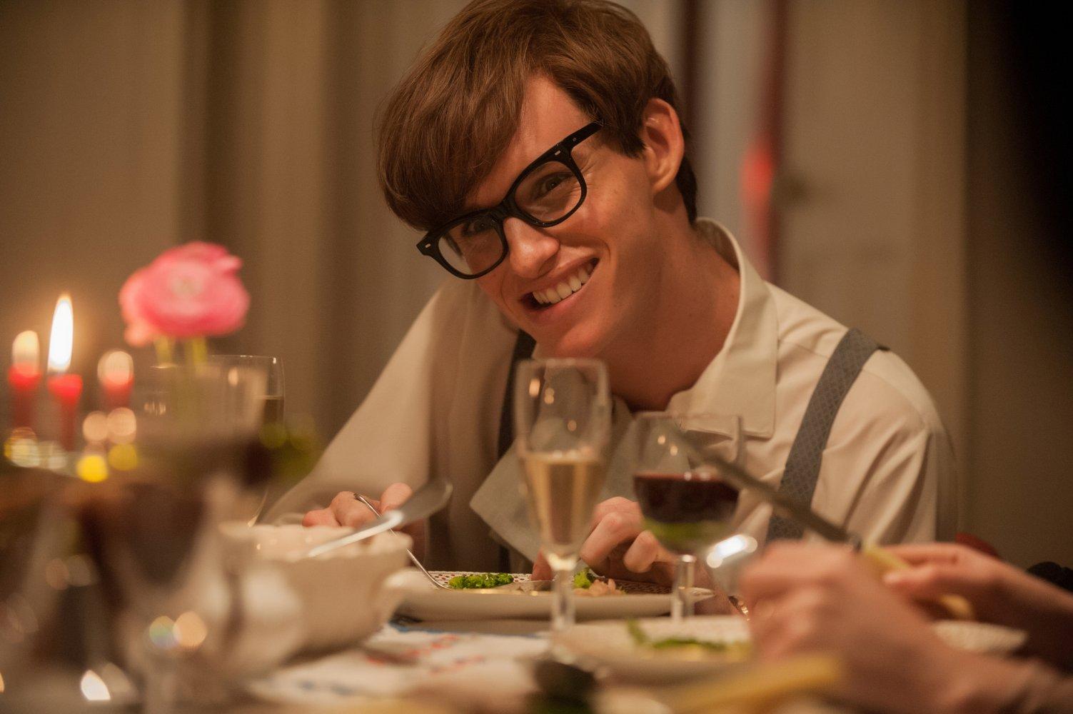 Лучшая мужская роль Оскар 25 лет Эдди Редмэйн Вселенная Стивена Хокинга (Теория всего) 2014