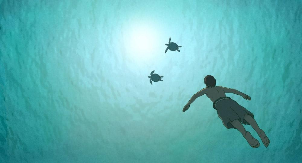 красная черепаха кадр 2