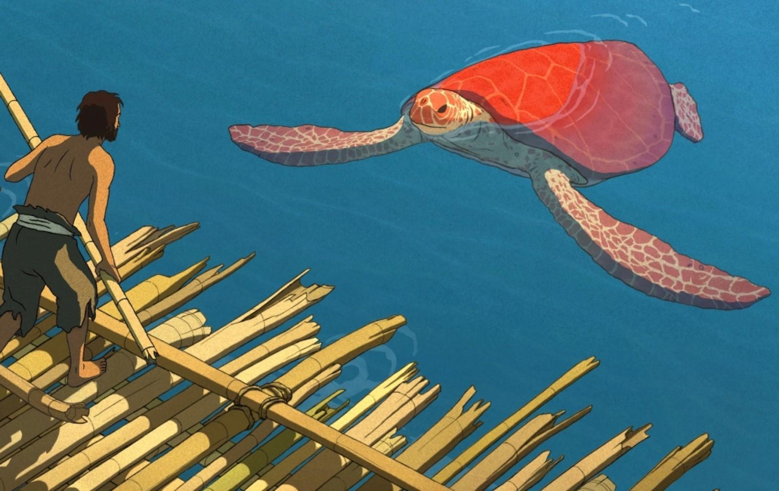 красная черепаха кадр 3