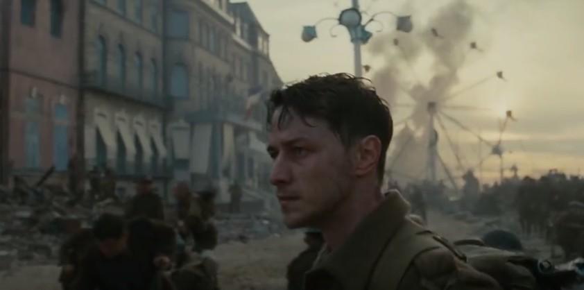 Пятиминутная сцена операции Дюнкерк, снятая одним дублем