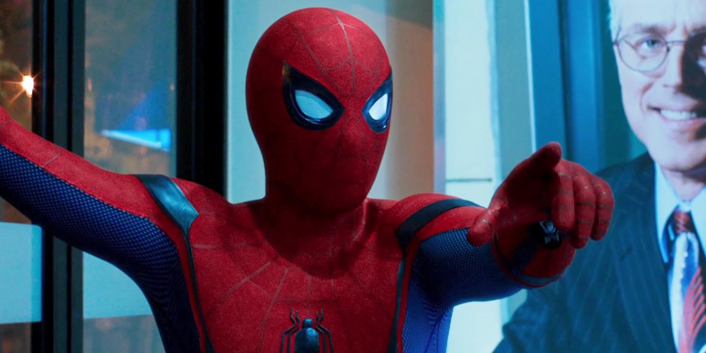 человек-паук возвращение домой кадр 1