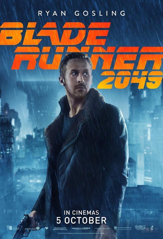 постеры «Бегущий по лезвию 2049»