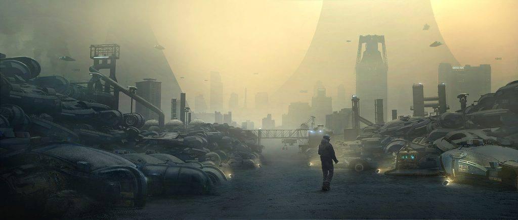 Официальные концепт-арты фильма «Бегущий по лезвию 2049»