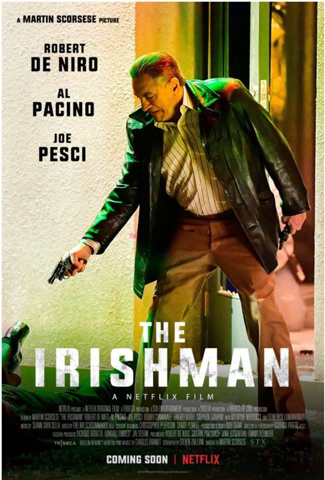 Постер фильма Ирландец Мартина Скорсезе