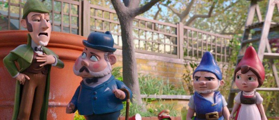 Шерлок Гномс (Gnomeo & Juliet Sherlock Gnomes)